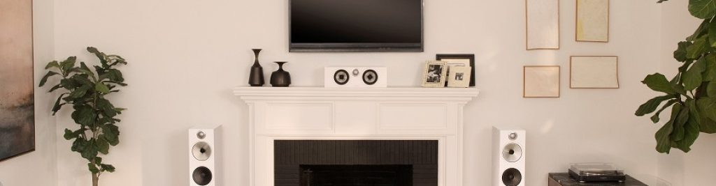 Center Speaker Placement Over Fireplace